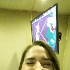 Karla Veron durante la grabación del episodio 8. (07/06/16)