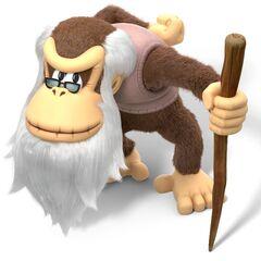 Cranky Kong en <a href=