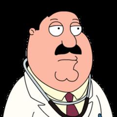 Dr. Elmer Hartman en <a href=