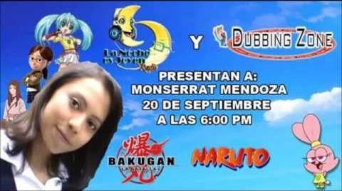 Entrevista a Monserrat Mendoza en Dubbing Zone