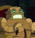 Robot britanico en la bestia con billones de brazos