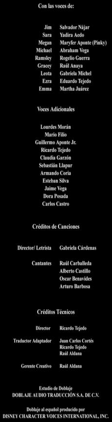 Doblaje Latino de La Mansión Embrujada