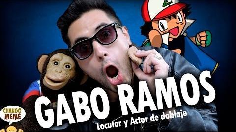 Gabo Ramos Voz ASH DE POKÉMON - Chango Memé