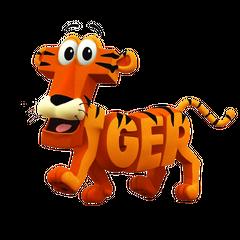 Tiger en <a href=