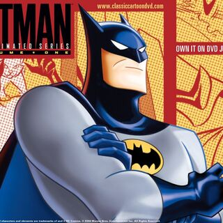 Batman de la serie animada de 1991.