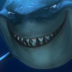 Bruce, el tiburón en <a href=