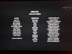 Créditos finales del doblaje latino Corazones de hierro (Fury)