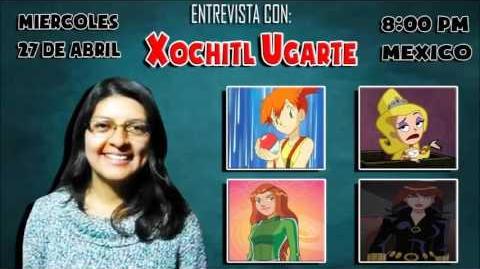 Entrevista a Xochitl Ugarte en Dubbing Zone