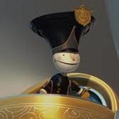 Tim, el Guardia de la Puerta en <a href=