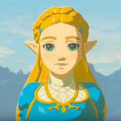 Princesa Zelda en <a href=