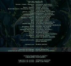 Créditos de doblaje de Robotech El amor sigue vivo (DVD)