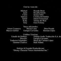 Créditos de la temporada 5