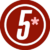 Logotipo actual del canal 5 (mexico)(1)