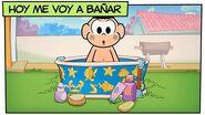 Mónica y sus Amigos Hoy me voy a bañar 🛀