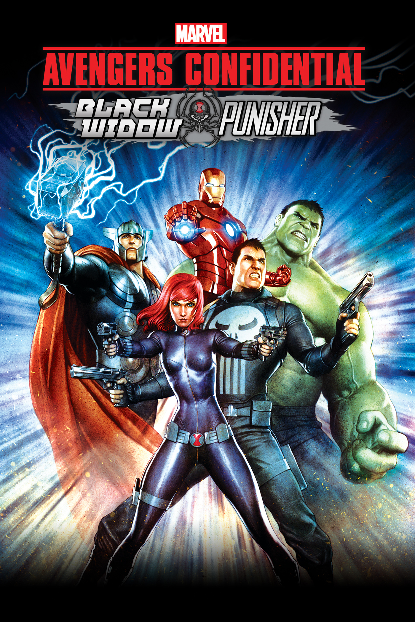 Avengers: Los archivos secretos - Black Widow y Punisher | Doblaje ...