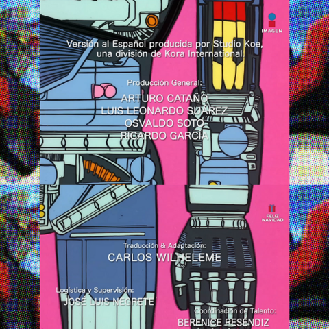 Créditos versión remasterizada Mazinger Z