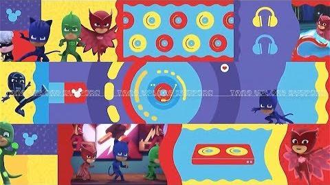 Disney Junior Latinoamérica- ¡La fiesta es aquí! - versión PJ Masks- Héroes en pijamas