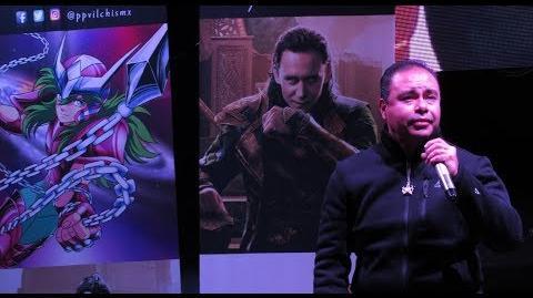 Pepe Vilchis la voz de Shun de Andrómeda, Neji Hyuga, Loki, Clayton Carmine..