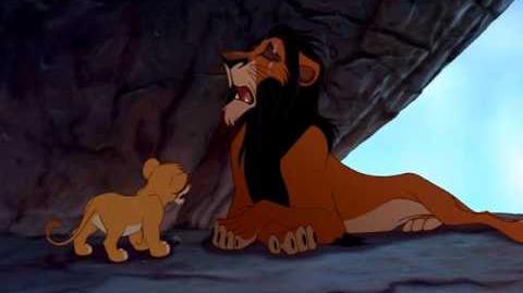 """Scar (2 14) español spanish """"El rey león""""."""