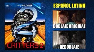 Critters 2 -1988- Doblaje Original y Redoblaje - Español Latino - Comparación y Muestra