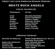 Doblaje Latino de Bratz Rock Angelz (2)