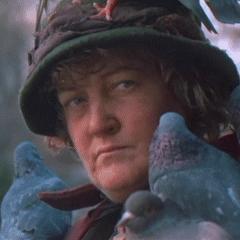 La Dama de las palomas (<a href=