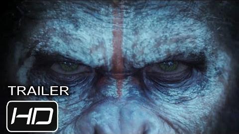 El Planeta de los Simios Confrontación - Trailer Español Latino - HD