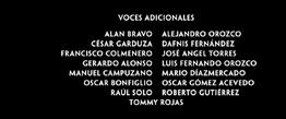 El buen amigo gigante Doblaje Latino Creditos 2