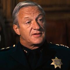 Jefe de Policía en la segunda versión de <a href=