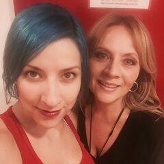 Carla Castañeda (Twilight) y Maggie Vera. (25/05/16)
