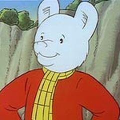 El oso Rupert en <a href=