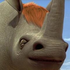 Biggie, el rinoceronte en <a href=