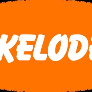 Primer logotipo de Nickelodeon (1996-2002).