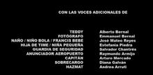 Un jefe en pañales Doblaje Latino Creditos 2