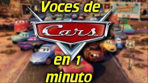 Voces de Cars 1, 2 y 3 en 1 minuto- -45