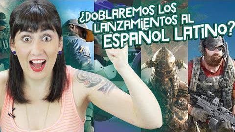 ¿Doblaremos los lanzamientos al español latino?