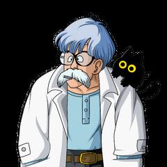 Dr. Brief (papá de Bulma), también en <a href=