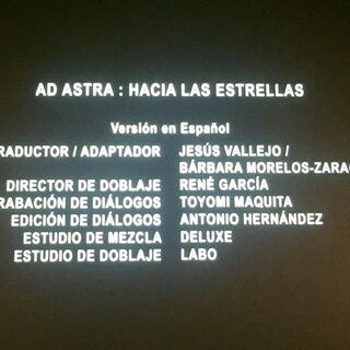 Créditos del Cine (1 de 5).