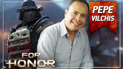 For Honor - Entrevista con Pepe Vilchis, la voz de Orochi