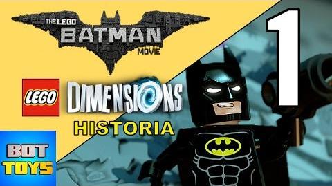 LEGO BATMAN LA PELICULA 2017 - HISTORIA EN LEGO DIMENSIONS LA PLANTA DE ENERGIA PARTE 1