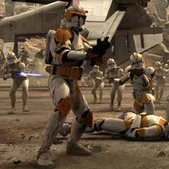 Comandante Cody y los Soldados Clones en <a href=