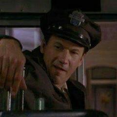 Conductor de autobús en <a href=