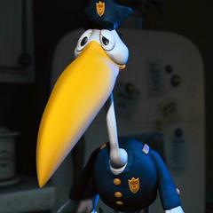 Detective Bill Stork (Bill Cigüeña Avendaño) en <a href=