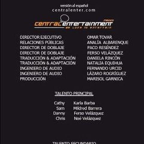 Creditos del Doblaje Mexicano 1 (Imágen del Usuario P.a.b.l.o)