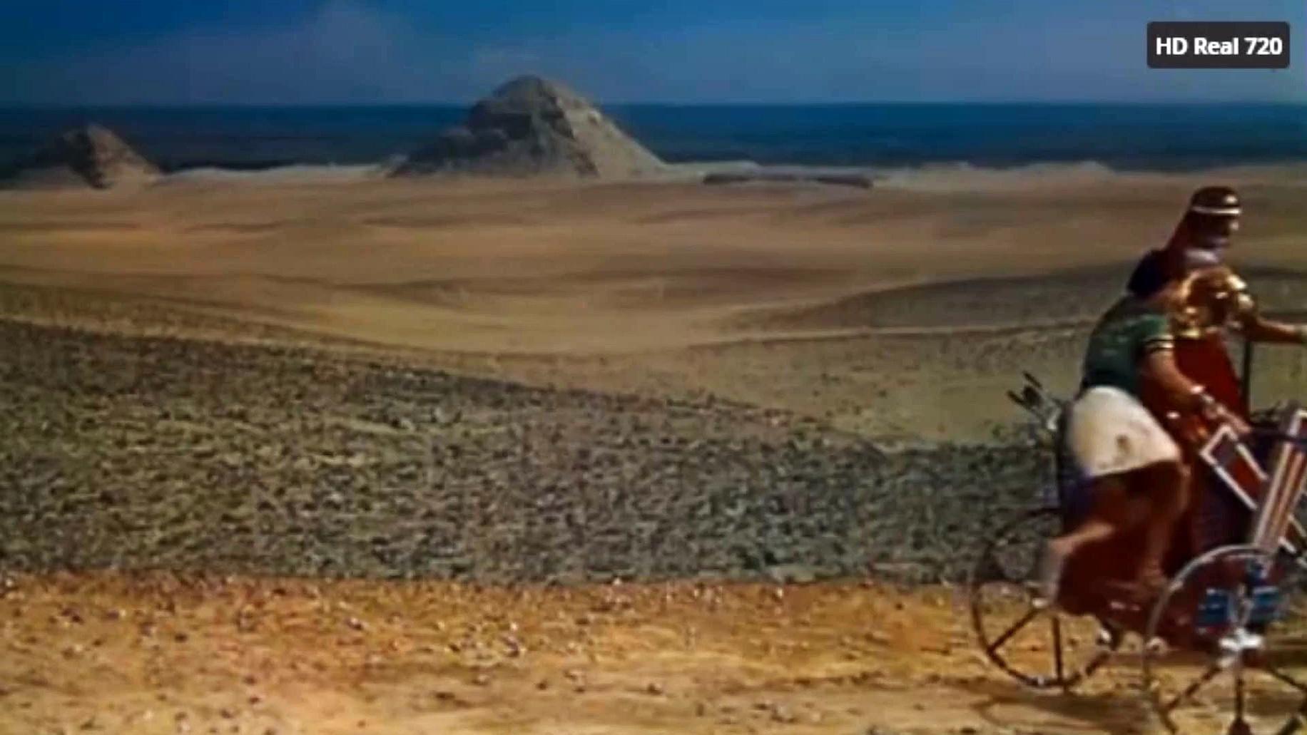 Los Diez Mandamientos (1956) - Doblaje Latino Moisés en el desierto