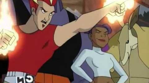 Static Shock Especial Liga de la Justicia -Fragmento Latino-