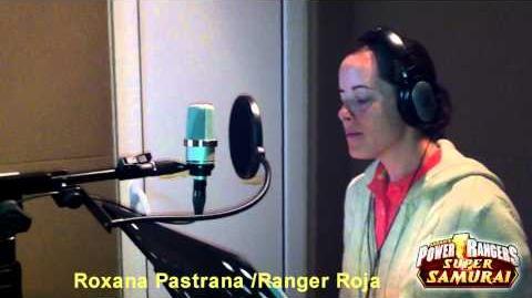 Doblaje Power Rangers Samurai - Roxana Pastrana Ranger Roja