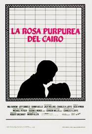 LA ROSA PURPUREA DEL CAIRO - Italian Poster
