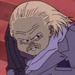 Nezu en el doblaje original del clásico del anime <a href=
