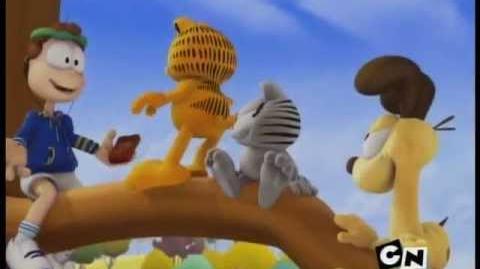 El Show de Garfield - Arriba de un árbol sin una raqueta